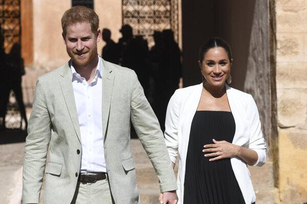 Takto sa Meghan a Harry tešili z prvého prírastku do rodiny.