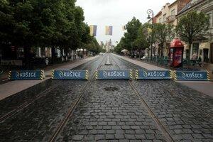 Zátarasy majú zvýšiť bezpečnosť obyvateľov a návštevníkov mesta počas majstrovstiev.