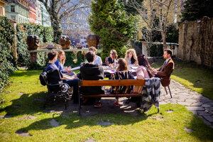 Jeden zo seminárov Bratislavskej medzinárodnej školy liberálnych štúdií