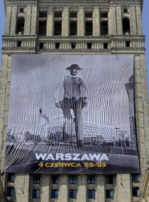 Oslavy 20. výročia pádu komunizmu v Poľsku.