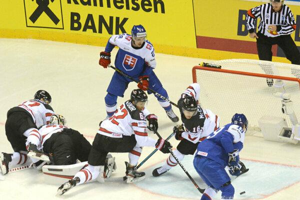 Slováci niesli prehru s Kanadou ťažko.