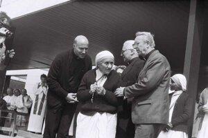 Čadcu navštívila 14. mája 1990.