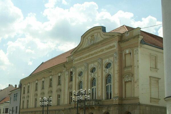 Divadlo Jána Palárika.