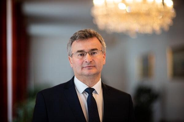 Predseda Ústavného súdu SR Ivan Fiačan.