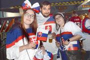 Slovenských fanúšikov sme vyspovedali po zápase s Dánskom.