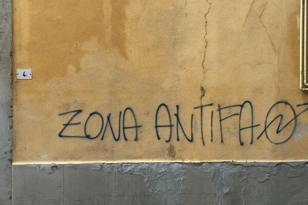 Ľavičiarska Antifa. Ilustračné foto
