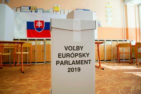 Eurovoľby 2019 - ilustračná fotografia.