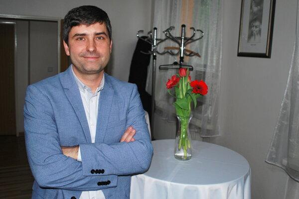 Astronóm Juraj Tóth.