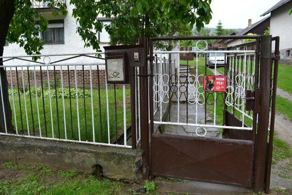 Pokoj v rodinnom dome v Porúbke nemá nik z jeho obyvateľov.