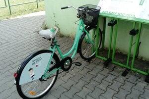 Zelené bicykle.
