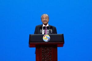 Malajzijský premiér Mahathir Mohamad.