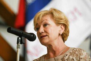 Ministerka Laššáková.