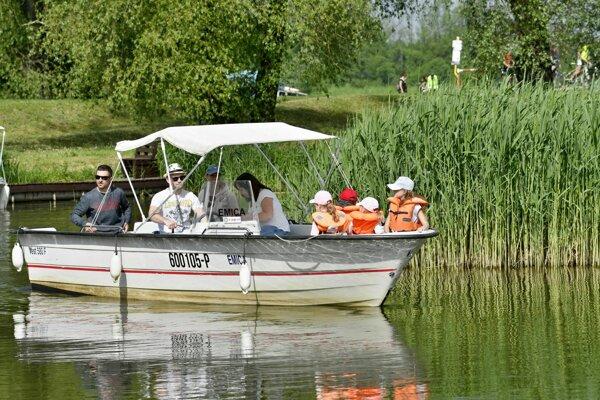Baťov kanál patrí medzi navštevované na Záhorí. FOTO: TASR