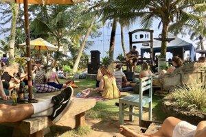 Popoludňajší koncert v záhradnom pube