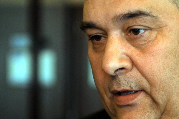 Predseda Rady mimovládnych organizácií rómskych komunít Ladislav Richter.