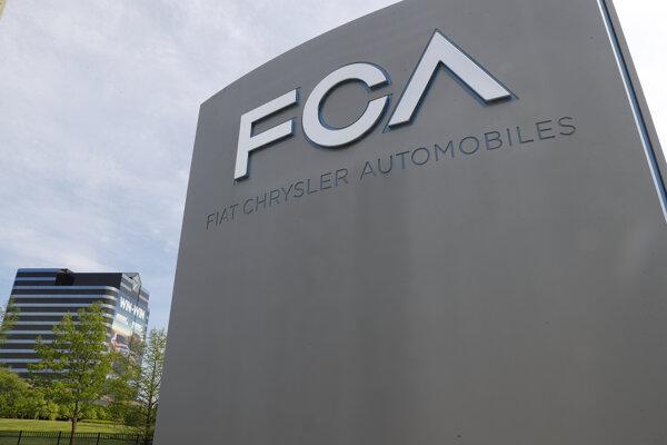 Na snímke svetové sídlo koncernu Fiat Chrysler.