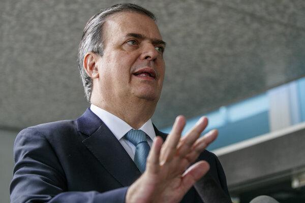 Mexický minister zahraničia Marcelo Ebrard.