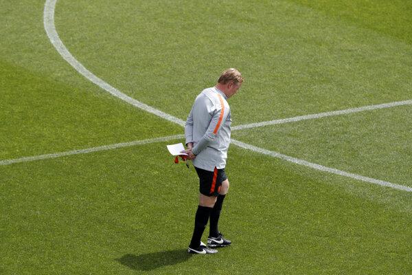 Tréner Holandska Ronald Koeman