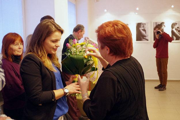 Autorka fotografií Paulína Kvaššayová (vľavo).