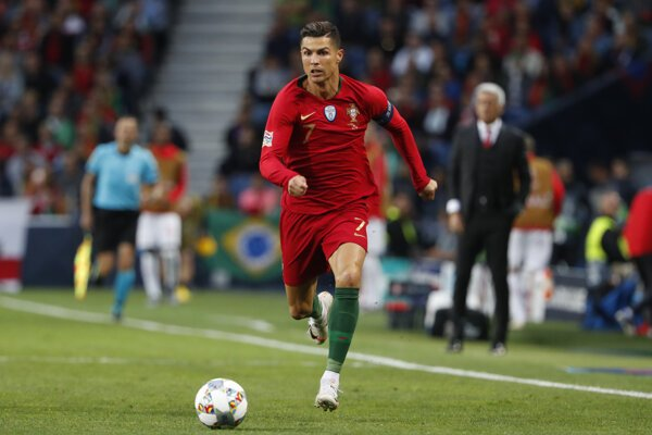Cristiano Ronaldo, ilustračná snímka