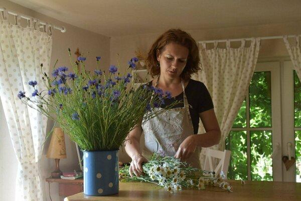 Kvetinárka Katka.