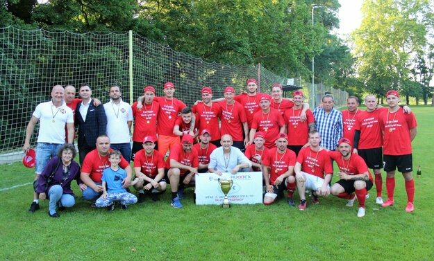 ŠK Pečeňady 2011 - víťazi 7. ligy RUBBEX