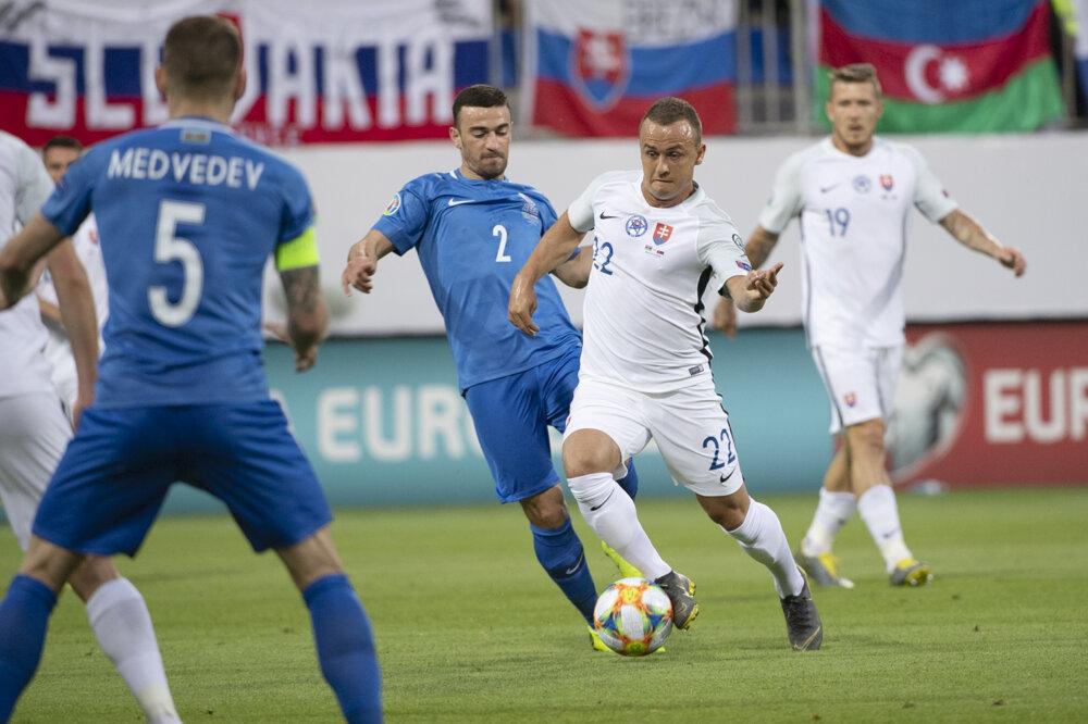 b5c9f7e2b Kvalifikácia EURO 2020: Azerbajdžan - Slovensko 1:5 - Šport SME
