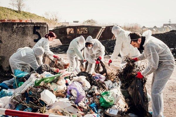 Analýza odpadu.