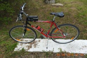 Bicykel po nehode.