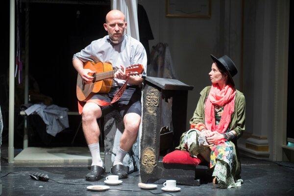 Hosťujúci Martin Nahálka sa do košického divadla vrátil o 17 rokoch.