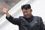 Severokórejský líder Kim Čong-un na archívnej snímke z 27. júla 2013.