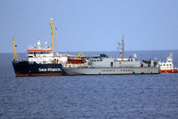 Loď Sea watch.