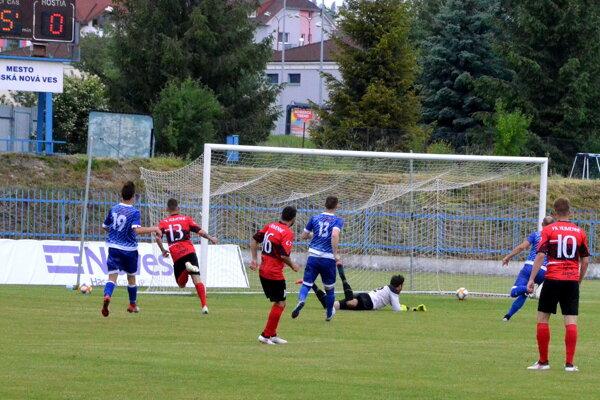 Prvým gólom hneď na začiatku druhého polčasu Matheus Goncalves odštartoval cestu Humenčanov za víťazstvom.