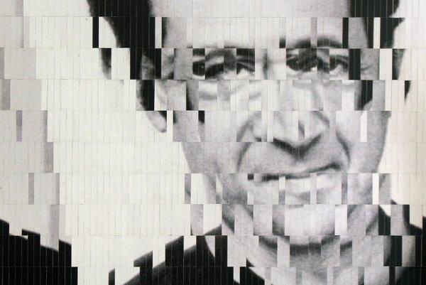 Steve Reich, koláž z častí fotografie