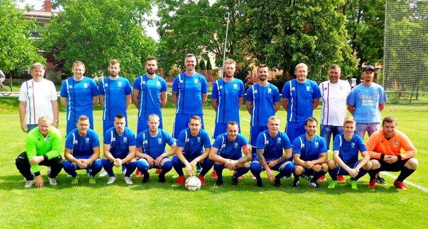 FC ViOn C/Volkovce, víťazi šiestej ligy.