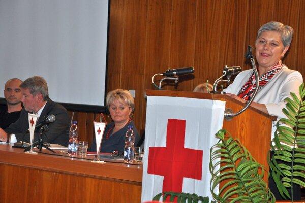 Členovia Slovenského Červeného kríža oslávili storočnicu.