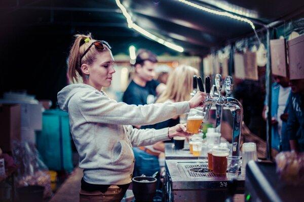 Môžete si nechať načapovať vioac ako 40 druhov piva.