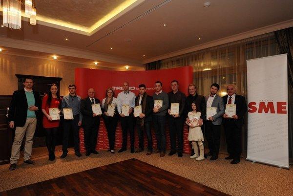 Výhercovia sútaže SME reštaurácia roka za jednotlivé kraje