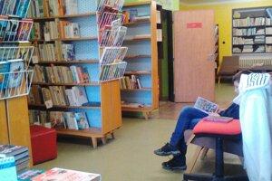 Knižnica v Selciach pred rekonštrukciou.
