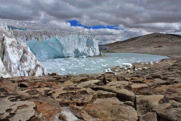 Ľadovec ukrýva stopy minulosti.