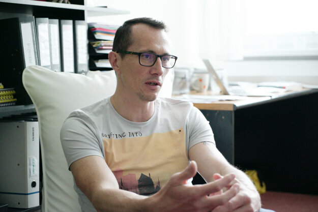 Rastislav Očenáš, manažér projektu Poznaj svoje peniaze