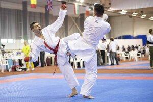 Medzinárodná súťaž v karate Slovakia Open - WUKF EP - ilustračná fotografia.