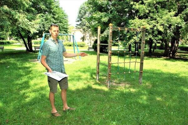 Tomáš Ignačák hovorí, že prioritou je výstavba detského a workoutového ihriska.
