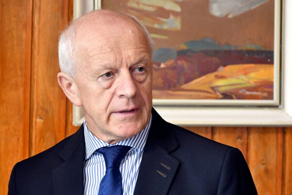 Riaditeľ Štátnej veterinárnej a potravinovej správy (ŠVPS) Jozef Bíreš.