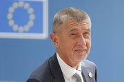 Na snímke český premiér Andrej Babiš prichádza na rokovanie prvého dňa summitu Európskej rady.