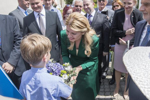 Prezidentka Slovenskej republiky Zuzana Čaputová na návšteve v  Česku.