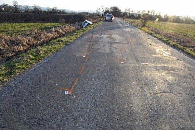 K nehode došlo na rovnom úseku.