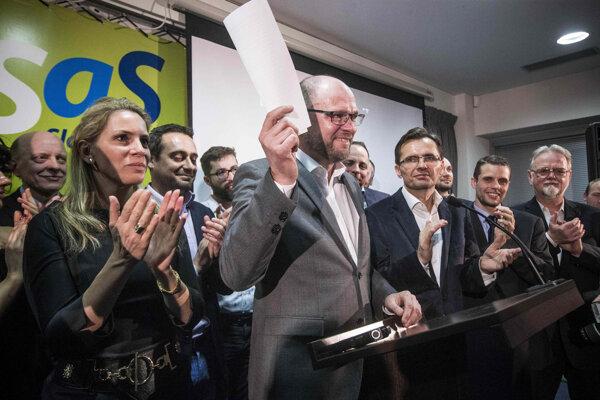 V minulosti stáli po boku lídra SaS Richarda Sulíka podpredsedovia Ľubomír Galko aj Jana Kiššová.