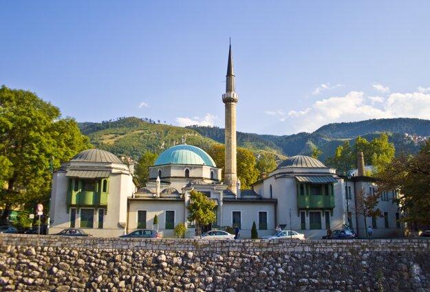 Sarajevo, hlavné mesto Bosny a Hercegoviny.