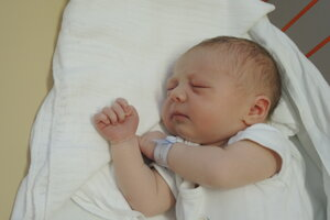 Marek Králik (3980 g, 52 cm) sa narodil 26. júna Soni a Jánovi z Nového Mesta nad Váhom.